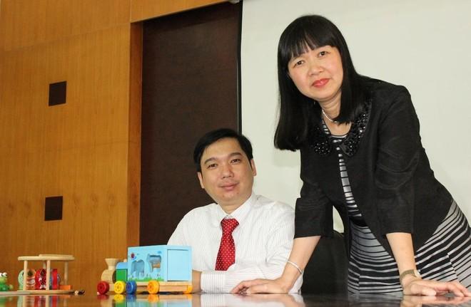 Bà Lê Hải Liễu và ông Lê Hồng Thắng (Nguồn: internet).