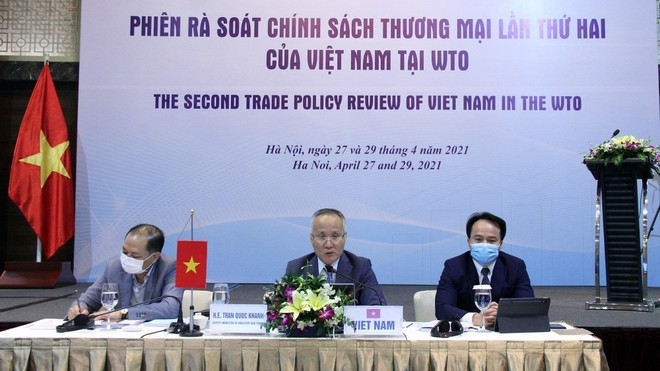 Trong 50 nước có nền thương mại hàng hóa lớn nhất thế giới, Việt Nam có mức tăng trưởng lớn nhất khi dịch chuyển từ vị trí thứ 39 vào năm 2009 lên vị trí thứ 23 vào năm 2019, là quốc gia thực thi nghiêm túc các cam kết quốc tế kể theo WTO.