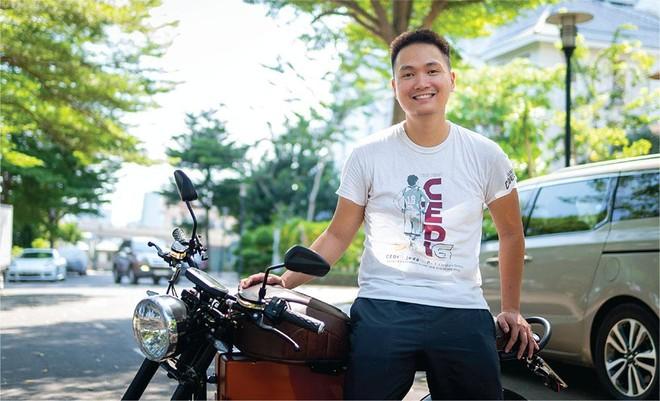 Nguyễn Bá Cảnh Sơn, sáng lập, kiêm CEO Dat Bike.