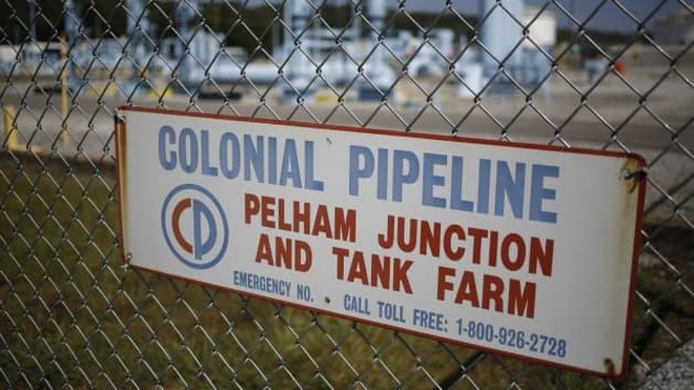 Colonial Pipeline là nhà cung cấp nhiên liệu chính cho miền Nam và miền Đông nước Mỹ. Ảnh: Bloomberg/Getty Images
