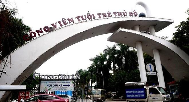Hà Nội: Xử lý triệt để các sai phạm liên quan đến Công viên Tuổi trẻ Thủ đô