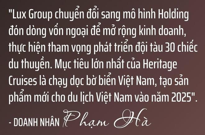 Chủ tịch Lux Group Phạm Hà: Chúng ta không thể thay đổi hướng gió, nhưng có thể thay đổi cánh buồm ảnh 11