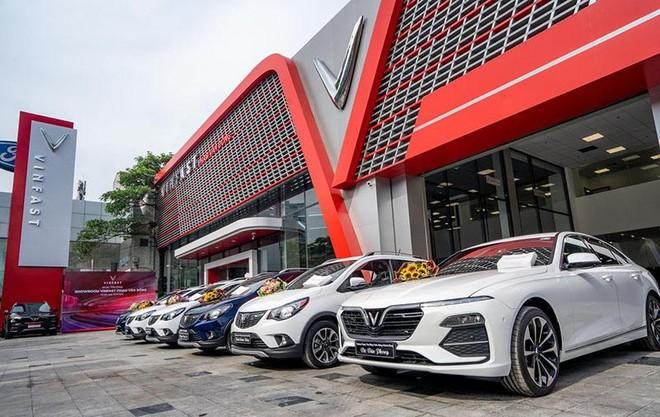VinFast có sự tăng trưởng vượt bậc về doanh số bán xe