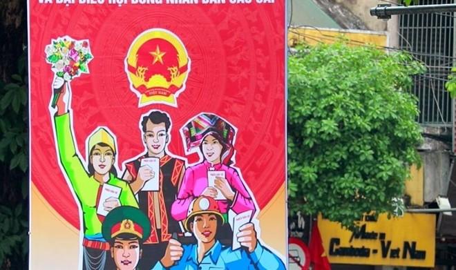 """Hà Nội """"thay màu áo mới"""" chào mừng ngày hội toàn dân ảnh 4"""