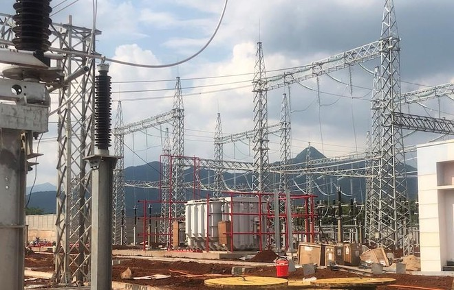 Trạm biến áp 220 kV Lao Bảo dự kiến đóng điện giai đoạn 1 cuối tháng 5/2021