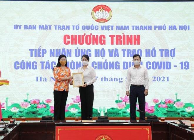 Hà Nội: Tiếp nhận 11,37 tỷ đồng ủng hộ công tác phòng, chống dịch Covid-19 ảnh 1