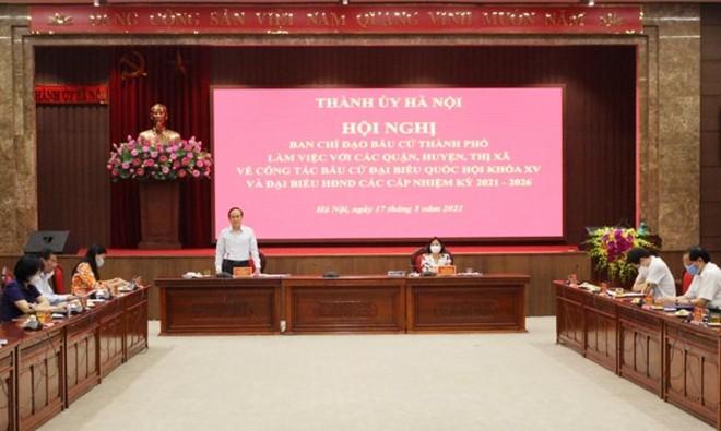 Ứng viên đại biểu Quốc hội tại Hà Nội đã hoàn thành việc tiếp xúc cử tri, vận động bầu cử ảnh 1