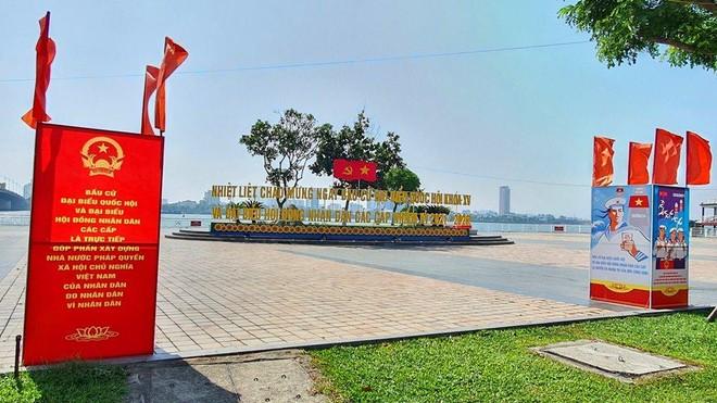 Thành phố Đà Nẵng đã chuẩn bị sẵn sàng cho ngày hội bầu cử.