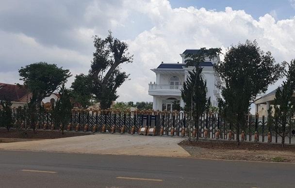 TP. Bảo Lộc đề nghị nhiều cơ quan góp ý về việc cưỡng chế biệt thự khủng xây không phép