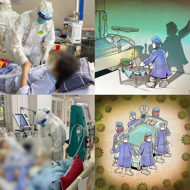 Bác sĩ tình nguyện tới tâm dịch: Không biết ngày về, chỉ hẹn bình an! ảnh 11