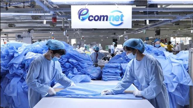 IFC cho biết, năng lực sản xuất PPE đã tăng mạnh với sản lượng tăng gấp sáu lần trong năm 2020.
