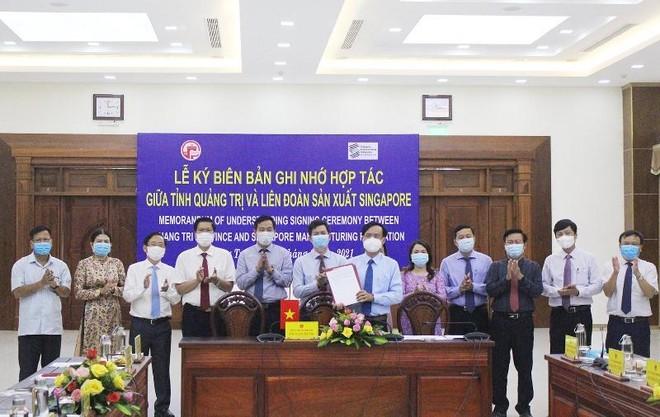 Quảng Trị hợp tác với đối tác Singapore để nghiên cứu, xây dựng quy hoạch tỉnh