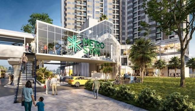 Shophouse Metro Star về đích cùng tuyến metro số 1