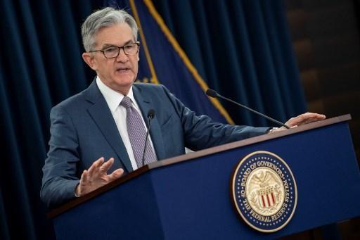 Chủ tịch Cục dự trữ liên bang Mỹ (Fed) Jerome Powell. Ảnh: AFP