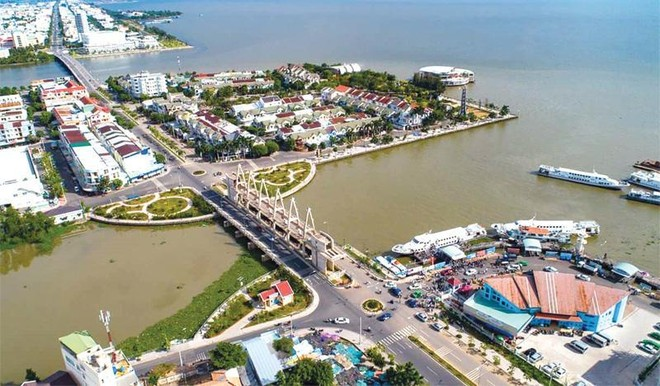 Khu đô thị lấn biển thành phố Rạch Giá, tỉnh Kiên Giang