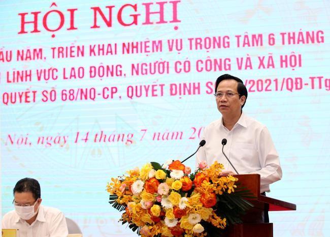Bộ trưởng Bộ LĐTB&XH Đào Ngọc Dung