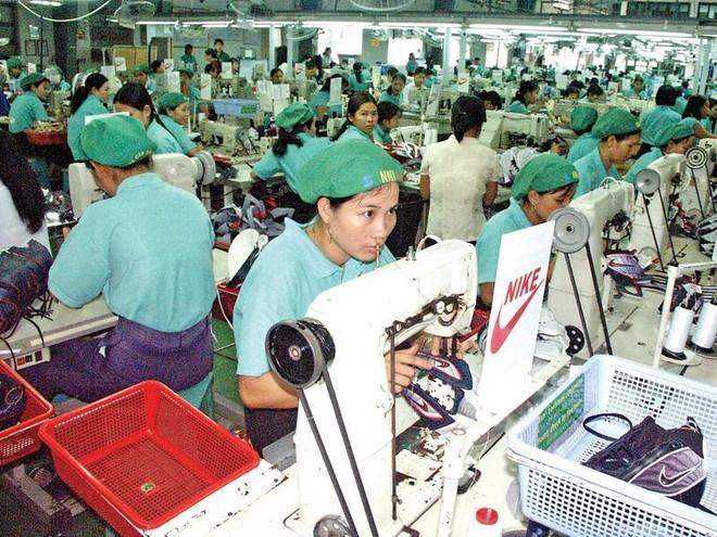 Việt Nam là một mắt xích quan trọng trong chuỗi cung ứng của Nike.