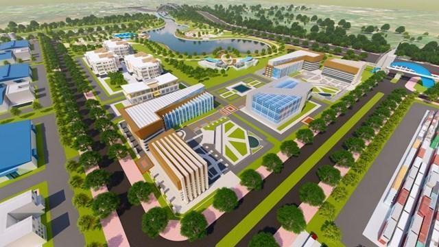 Đầu tư gần 2.600 tỷ đồng xây dựng hạ tầng khu công nghiệp Nam Tân Tập