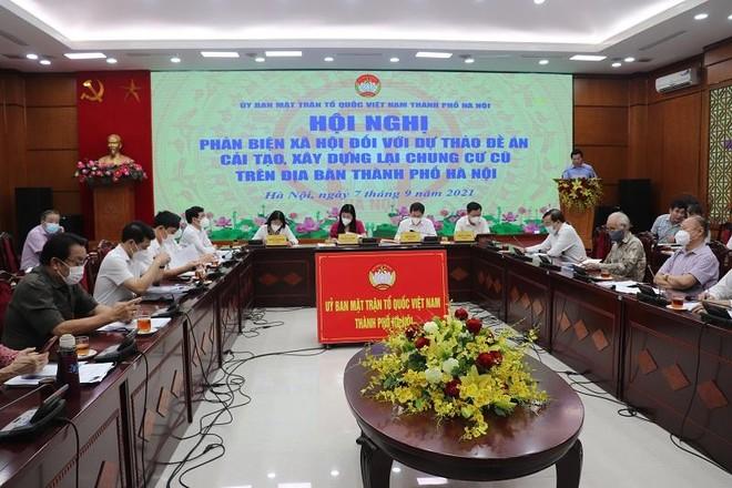 Cải tạo chung cư cũ tại Hà Nội mới thực hiện được khoảng 1,2%