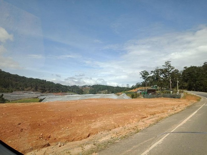 Lâm Đồng: Công ty Phượng Đỏ Đà Loan hủy hoại hơn 3 ha đất