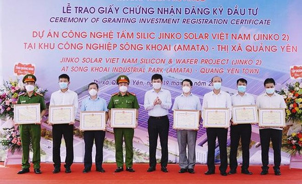 Jinko Solar đầu tư tiếp dự án thứ 2 hơn 365 triệu USD vào Quảng Ninh ảnh 2