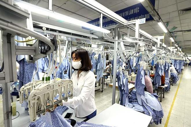 Hàng may mặc của doanh nghiệp Việt Nam có tiềm năng lớn để xuất khẩu sang Cuba. Ảnh: Đ.T