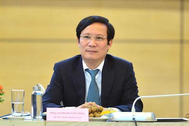 Chủ tịch Phòng Thương mại và Công nghiệp Việt Nam Phạm Tấn Công