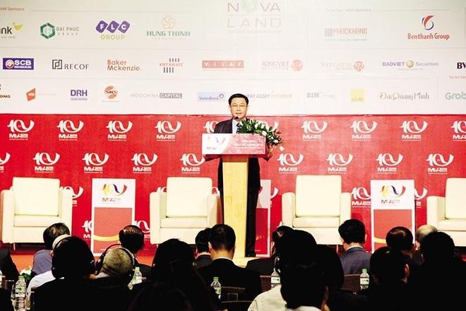 Tại Diễn đàn M&A Việt Nam 2018, Phó thủ tướng Vương Đình Huệ (nay là Chủ tịch Quốc hội ) bày tỏ tin tưởng rằng, Diễn đàn sẽ thúc đẩy thị trường M&A Việt Nam phát triển lành mạnh, bền vững