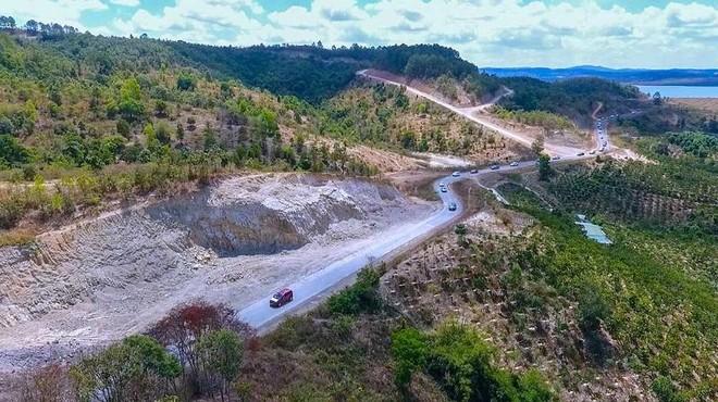 Rừng, đất rừng Dự án Khu đô thị sinh thái Đại Ninh liên tục bị phá, tái chiếm