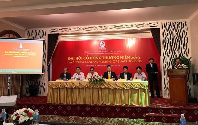 ĐHCĐ Nước giải khát Chương Dương (SCD): Người Thái quyết đẩy mạnh thương hiệu sá xị Chương Dương