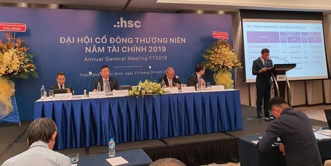 ĐHCĐ Chứng khoán HSC (HCM): Hướng vào 2 mũi nhọn ngân hàng đầu tư và quản lý tài sản