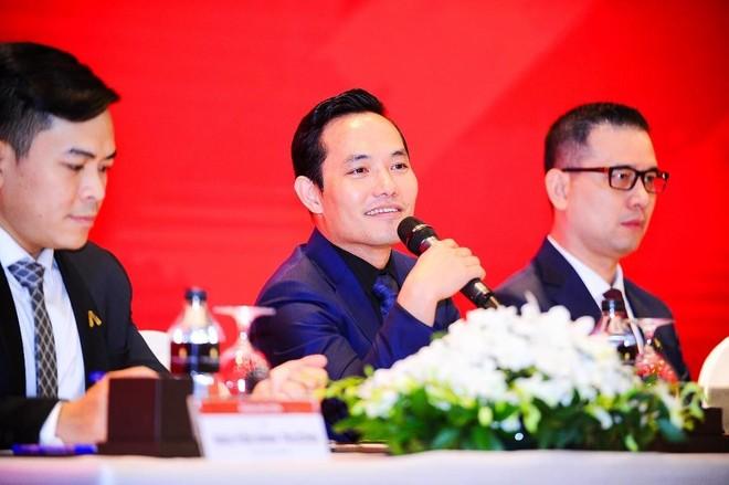 Ông Nguyễn Bá Sáng – Chủ tịch HĐQT Tập đoàn Bất động sản An Gia phát biểu tại ĐHCĐ 2021