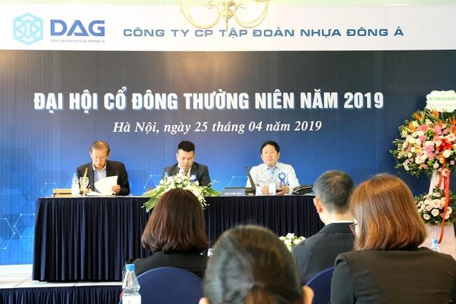 Tập đoàn Nhựa Đông Á (DAG) đặt mục tiêu doanh thu 2019 đạt 1.815 tỷ đồng