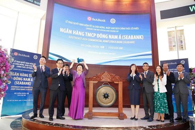 SeABank (SSB) chào sàn HOSE, vốn hóa vượt 1 tỷ USD