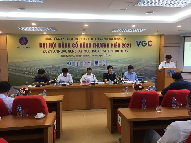 ĐHCĐ Viglacera: Nhà nước sẽ thoái hết vốn vào năm 2022
