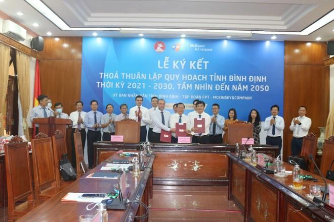 FPT và McKinsey hợp tác lập quy hoạch tỉnh Bình Định