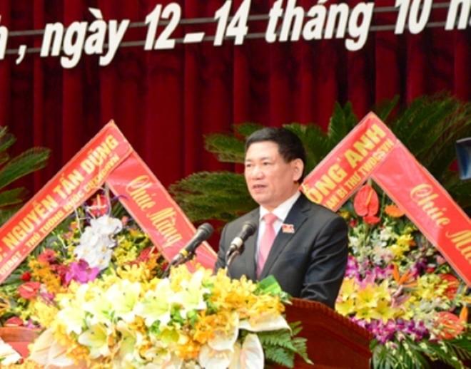 Đồng chí Hồ Đức Phớc tái đắc cử Bí thư Tỉnh ủy Nghệ An khoá XVIII