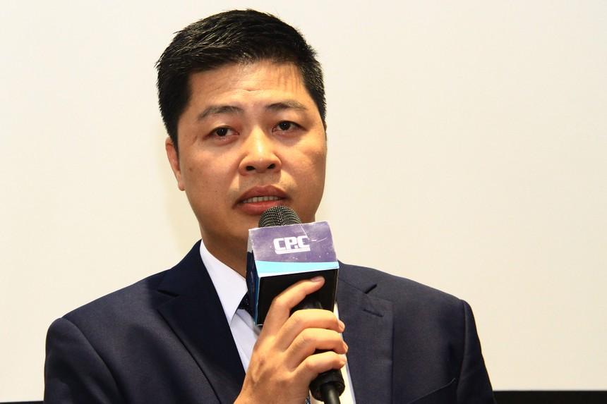 Ông Phan Tiến Phương, Tổng giám đốc Công ty Cổ phần Cúc Phương. Ảnh: Thành Nguyễn.