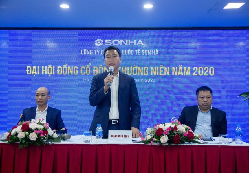 Lãnh đạo Tập đoàn Sơn Hà chia sẻ về các kế hoạch mục tiêu năm 2020.