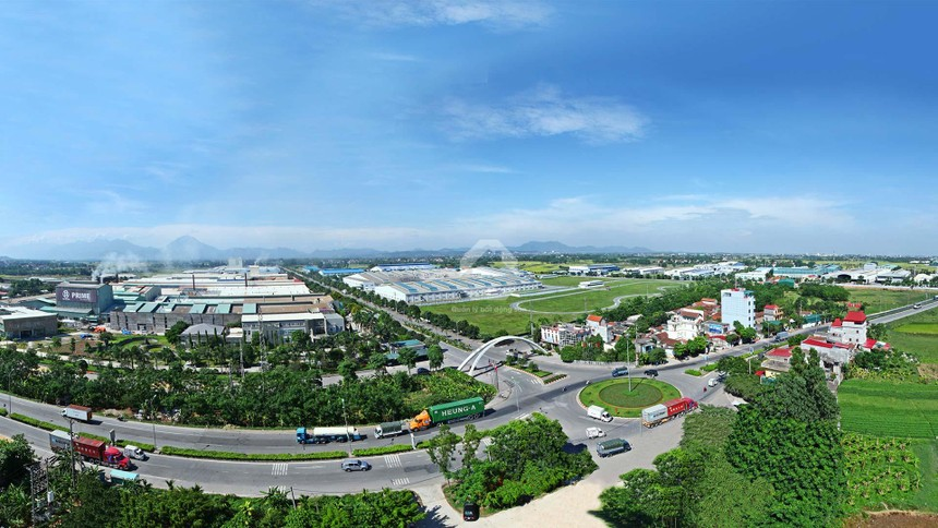 Vĩnh Phúc là địa chỉ đầu tư quen thuộc của nhiều doanh nghiệp FDI. Ảnh: Internet.