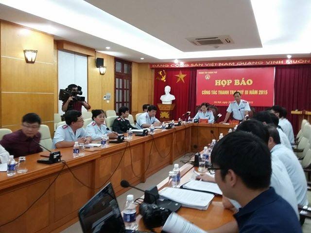 Trao đổi với báo chí tại cuộc họp báo về công tác thanh tra Chính phủ quý 3/2015, ông Ngô Mạnh Hùng cho biết, Đề án Kiểm soát thu nhập của người có chức vụ quyền hạn là đề án rất phức tạp.