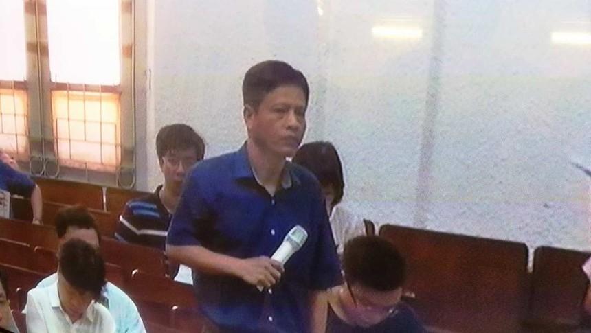 Ông Bùi Văn Hải trả lời tại phiên tòa
