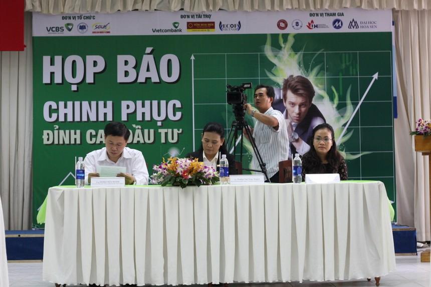 Buổi họp báo Khởi động Cuộc thi Chinh phục đỉnh cao Đầu tư năm 2014