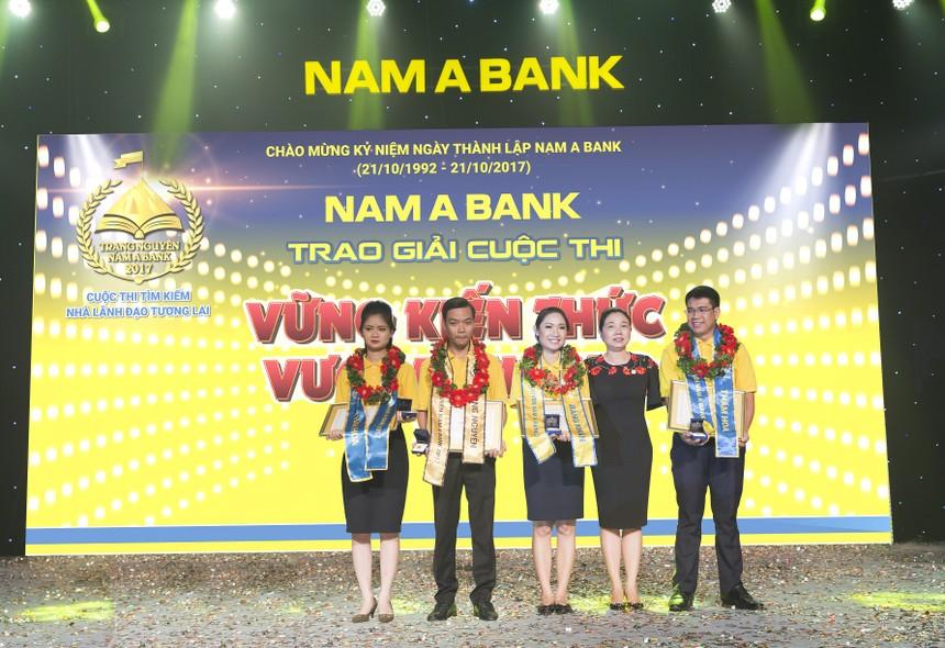 Nam A Bank đã tìm ra trạng nguyên năm 2017, nhà lãnh đạo tương lai của Ngân hàng