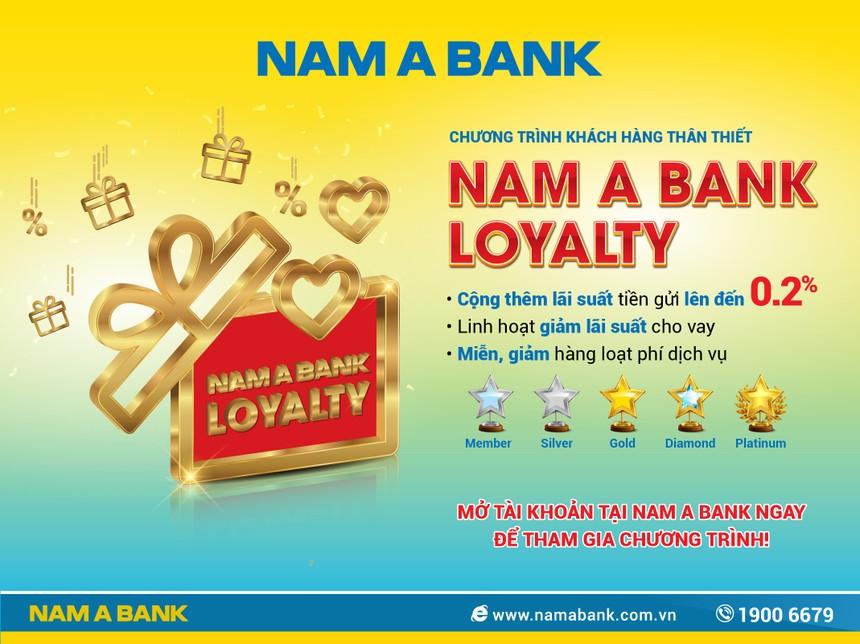 Hàng loạt đặc quyền từ 'Nam A Bank Loyalty 2019'