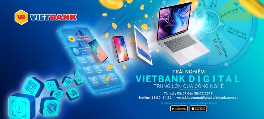 Vietbank ưu đãi lớn dịp ra mắt Mobile Banking Vietbank Digital
