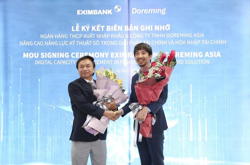 Eximbank ký kết Biên bản ghi nhớ hợp tác với Công ty Doreming