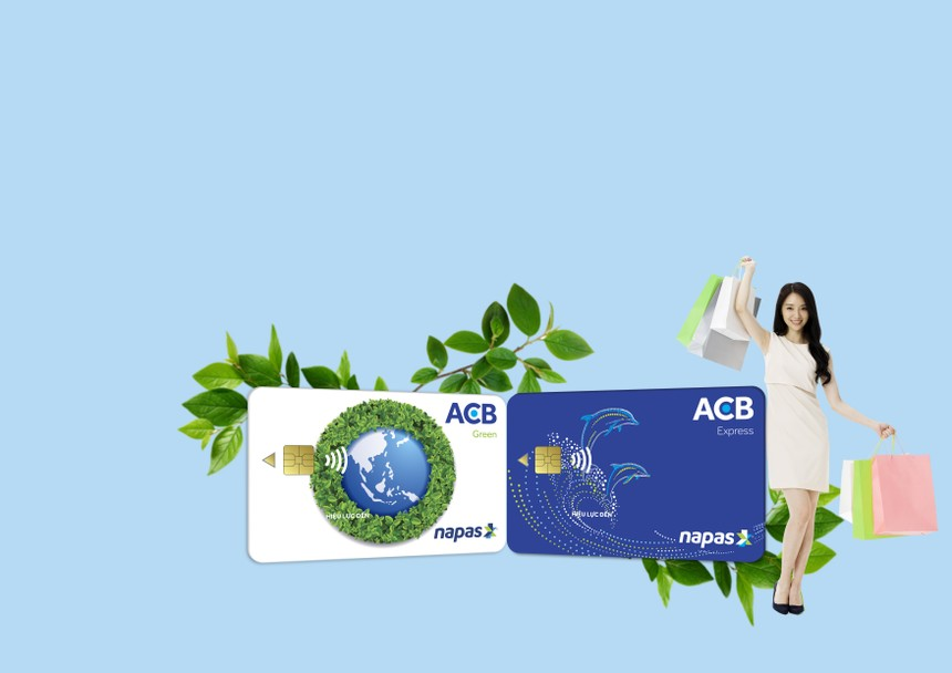 ACB phát hành hai dòng thẻ chip nội địa trên toàn hệ thống