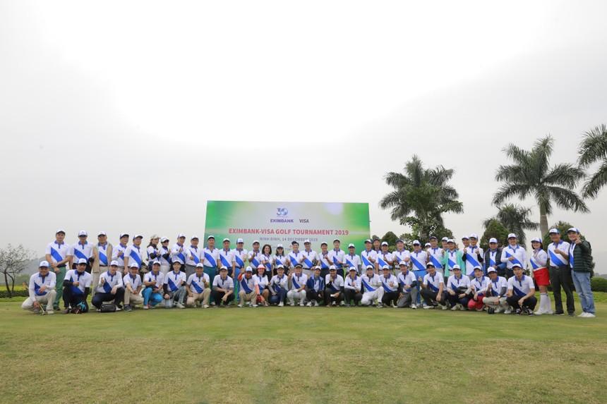 Eximbank tổ chức giải golF Eximbank -Visa Golf Tournament 2019
