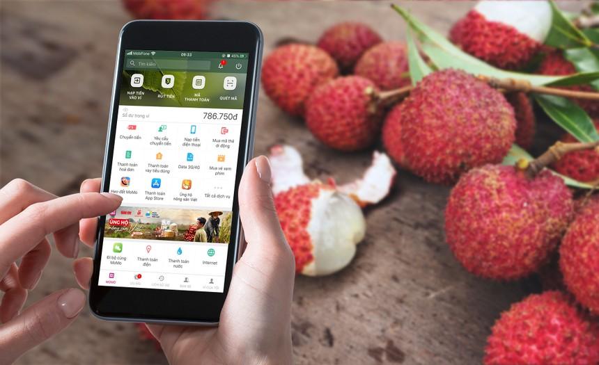 Đưa nông sản Việt bán trên ứng dụng ví điện tử